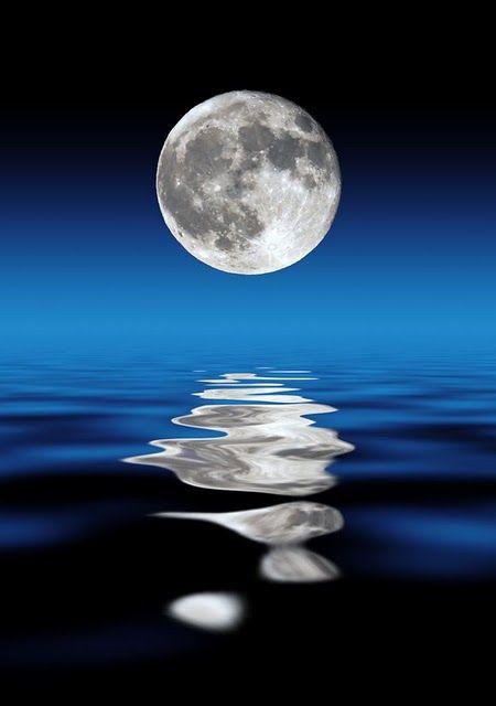 Moonlight clipart blue moon #5
