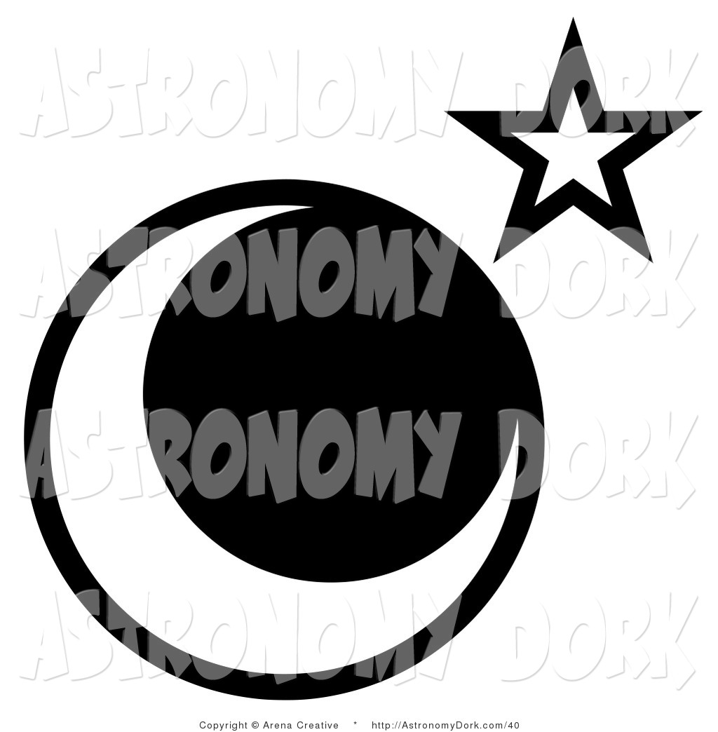 Moonlight clipart Stock on Astronomy Star Free