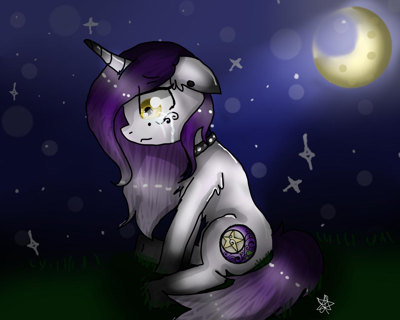 Moonlight clipart sad Sad Moonlight Moonlight  by