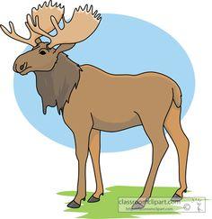 Moose clipart Cartoon on lds lds art