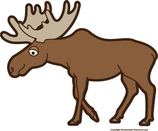 Moose clipart Moose Free  Clipart
