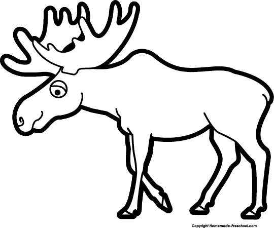 Moose clipart Save Free Moose to Mommy