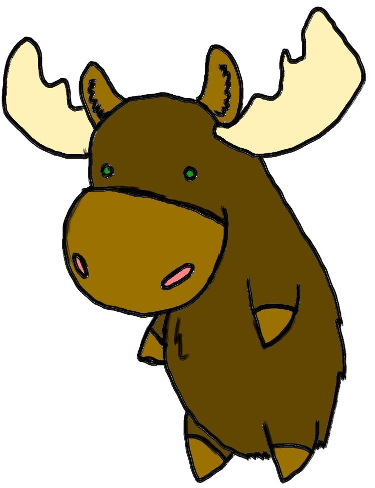 Drawing Moose 11571 Moose Drawing