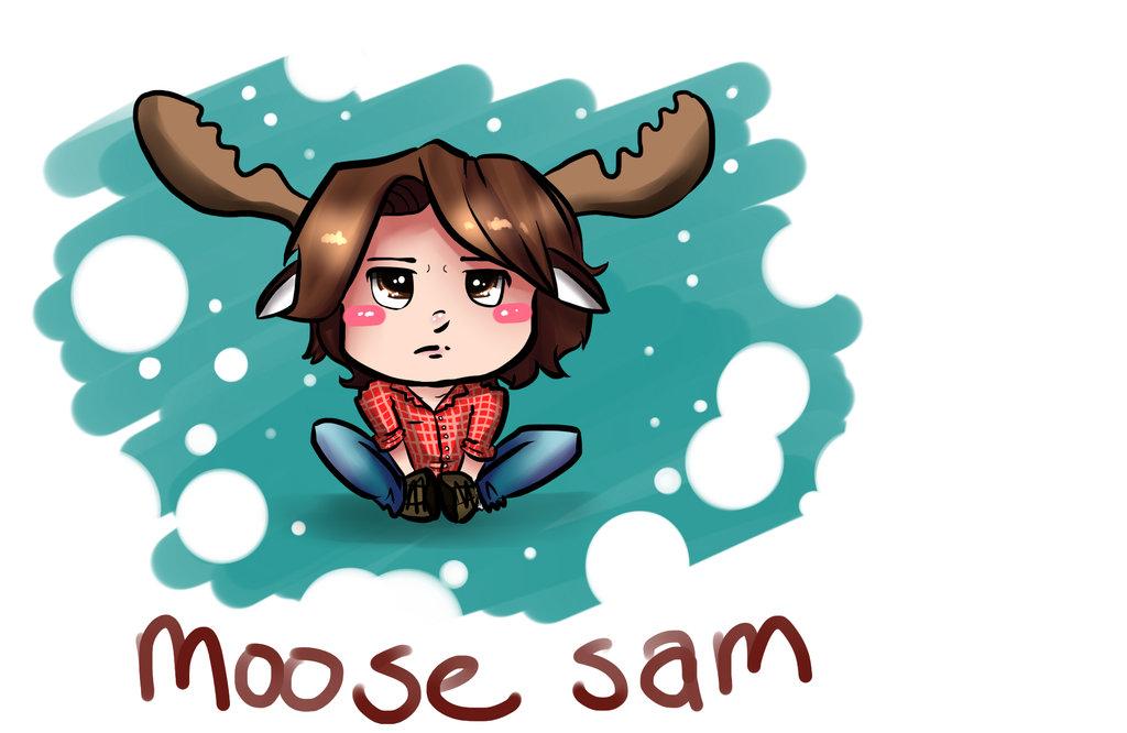 On Moose loose GIANTGIRL the