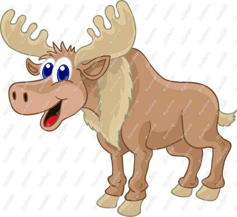 Moose clipart ear Cliparts Moose Moose Cartoon Clipart