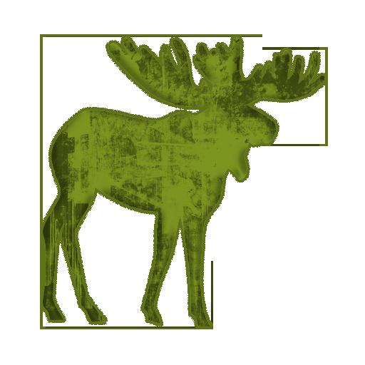 Moose clipart green Art com Moose Clipart Clipart