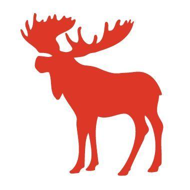 Moose clipart michigan #2