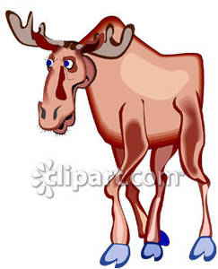 Moose clipart ear Free Royalty Free Moose Clipart