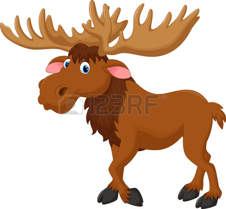 Moose clipart strong #2