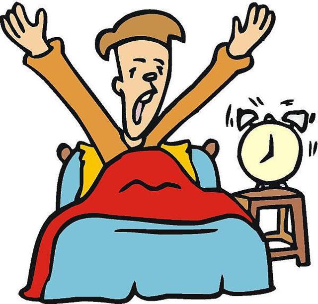 Morning clipart despertarse #3