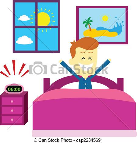 Morning clipart despertarse #12