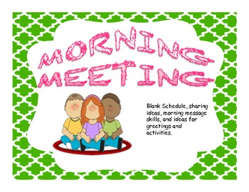 Morning clipart morning meeting #14