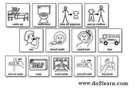 Morning clipart morning routine Clipart Routine Images Free Morning