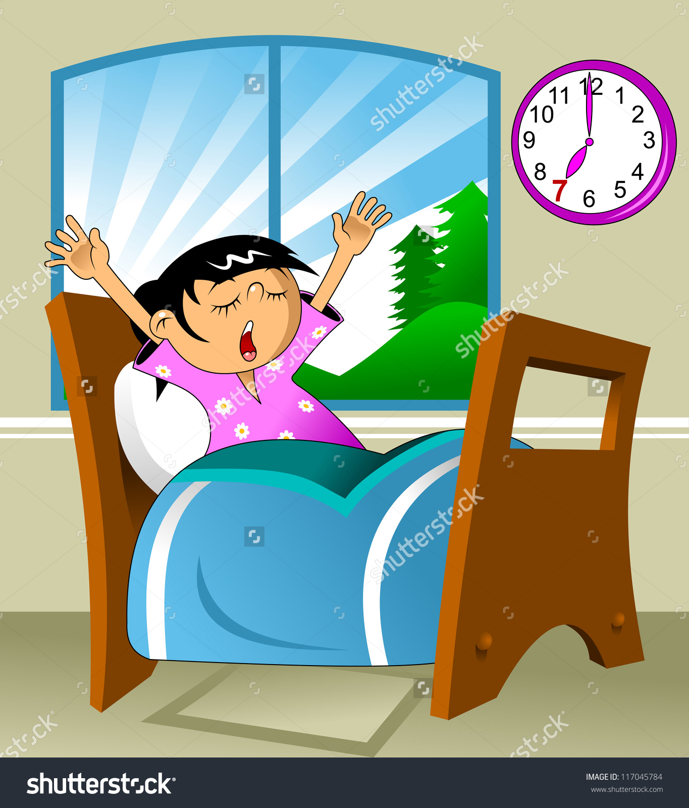 Morning clipart wakeup Wake clipart morning the up