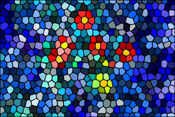 Mosaic clipart Royalty free  Surfacing Clker