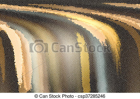 Mosaic clipart colour Earth background Colour In Waterfall