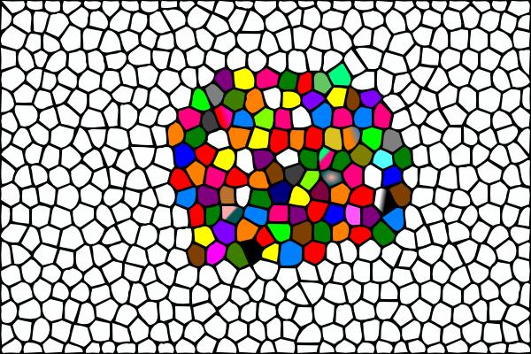 Mosaic clipart colour This com online  Colour