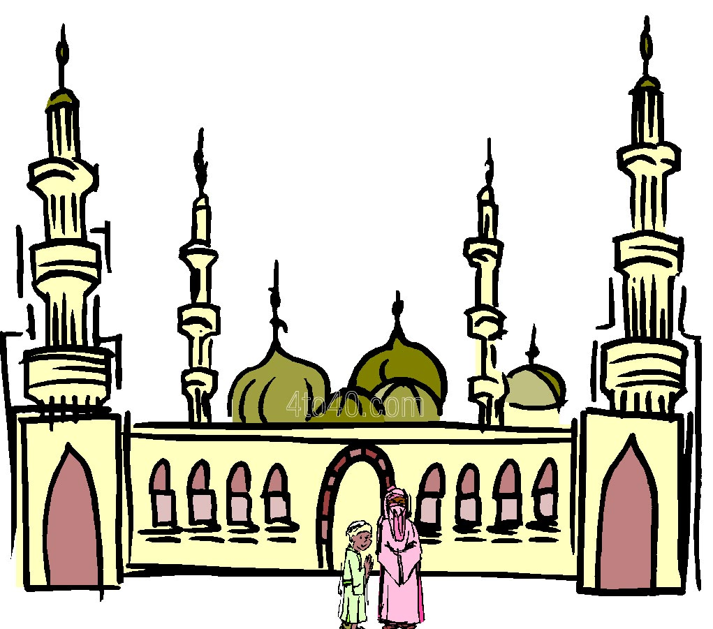 Mosque clipart  Eid of Clipart Ramadan