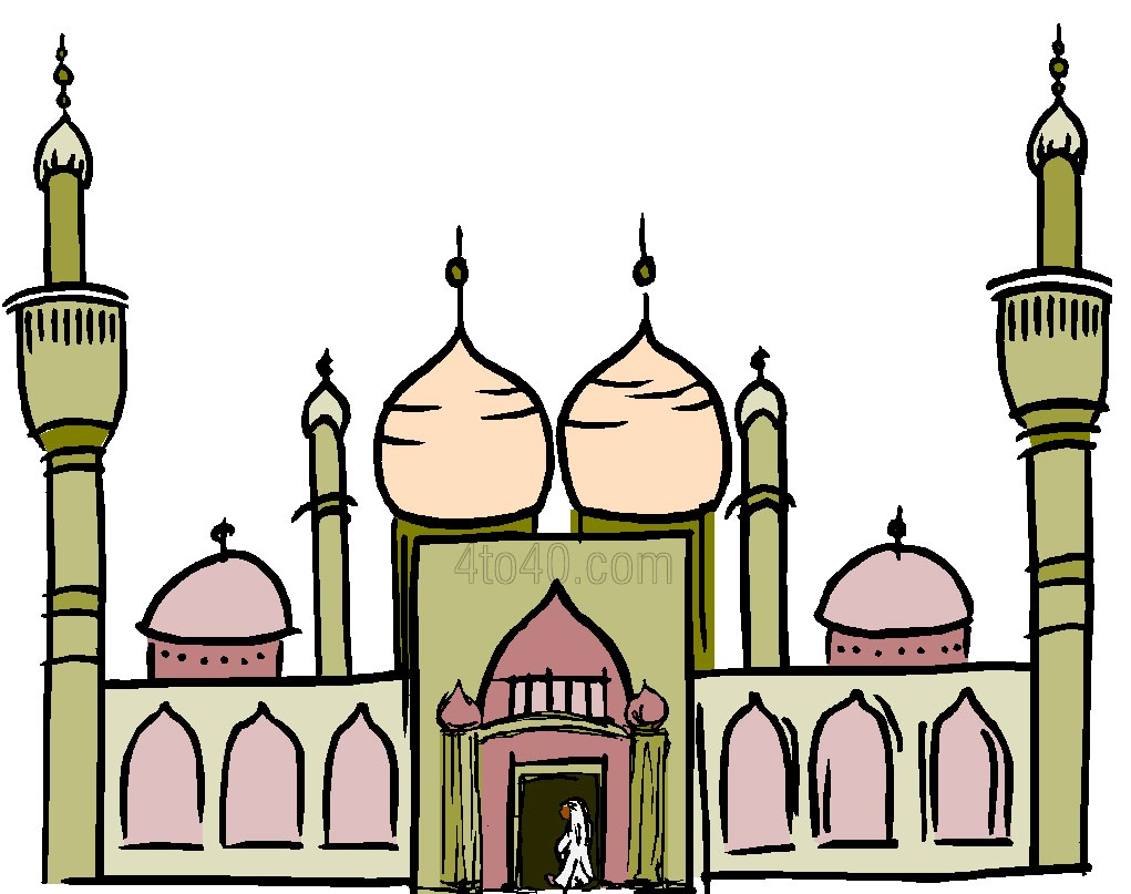 Mosque clipart 14  Dome Page Mosque