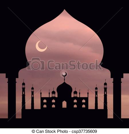 Mosque clipart arch Clipart arch arch Dusty Islam