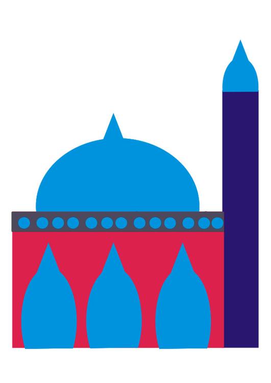 Mosque clipart arch Mosque Clipart
