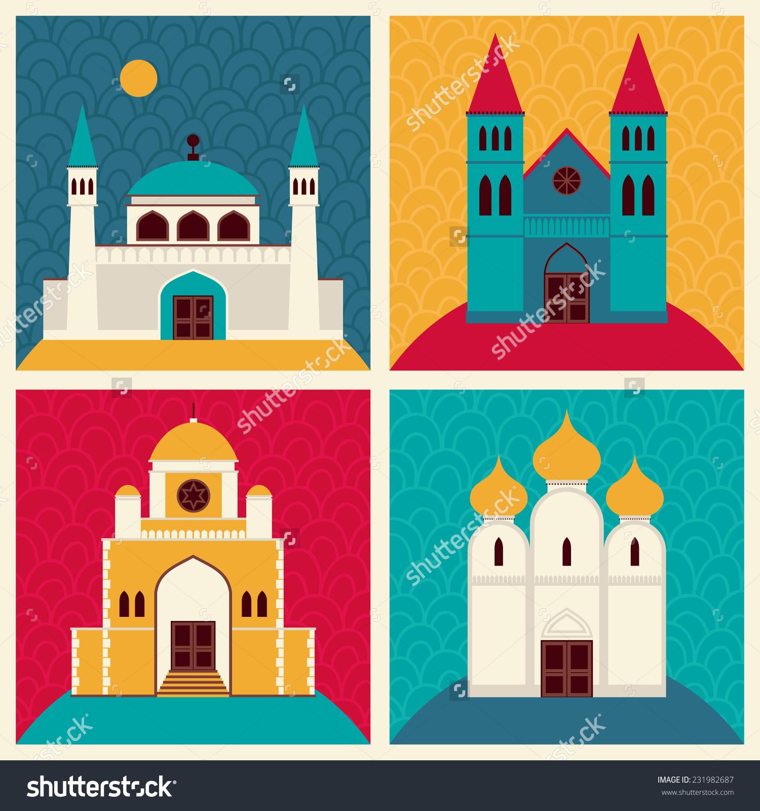 Mosque clipart church Prayer? their share  House