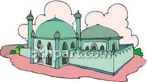Mosque clipart church Art – Islamic Art Islamic