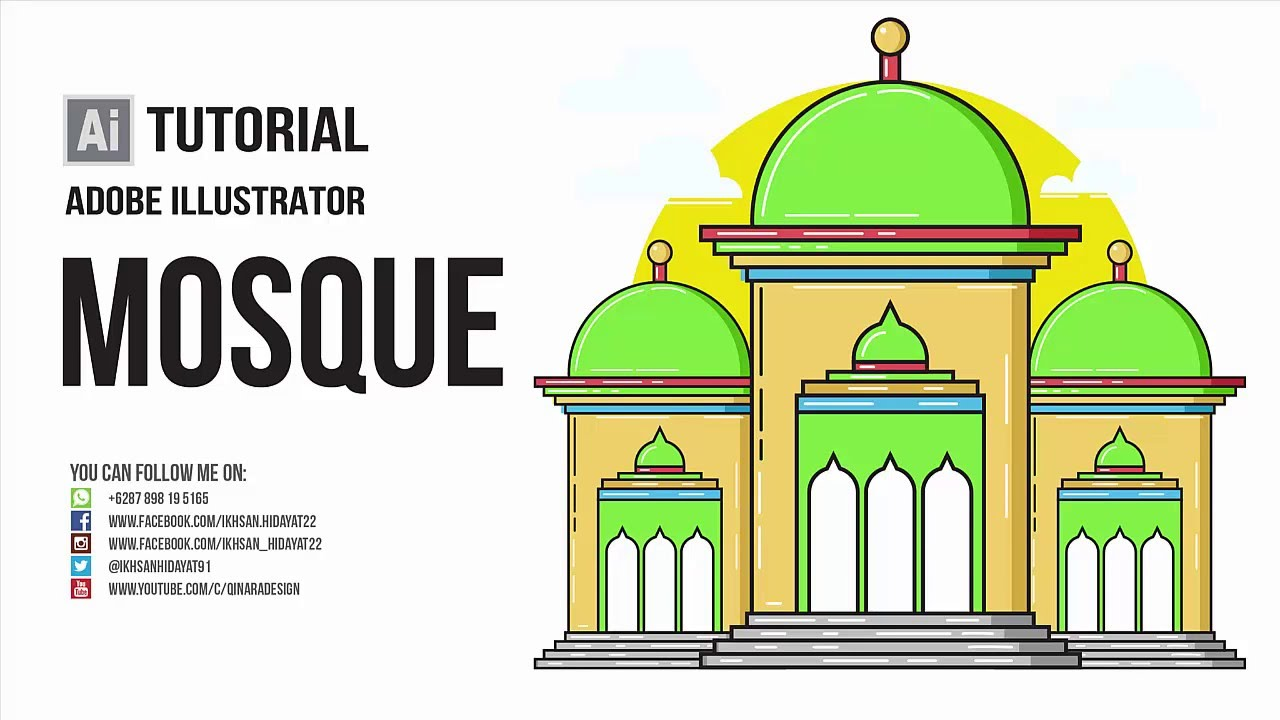 Mosque clipart frame Create SIMPLE Mosque MOSQUE vector