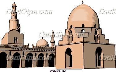 Mosque clipart arch Art clipart Mosque ClipartMonk Clip