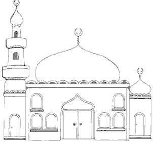 Dome clipart black and white #6