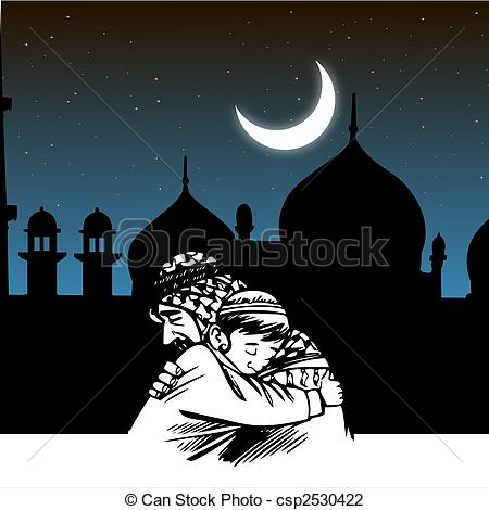 Mosque clipart frame Ramadaan Illustration eid of festival