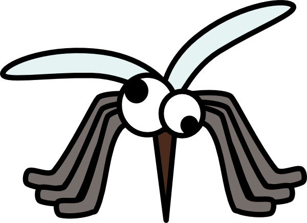 Shadow clipart mosquito #15