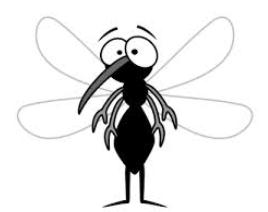 Mosquito clipart happy Happy slight Weather Expectations 70s;