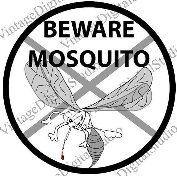Warning best Mosquito Art Transfers