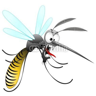 Mosquito clipart scared Pinterest #Cartoon #Mosquito! © Bluedarkat