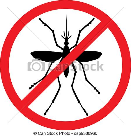 Bugs clipart mosquito Clipart Stop vector Mosquito of