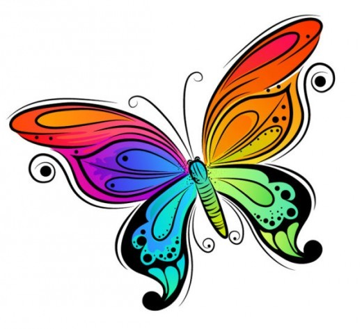 Moth clipart drawn #12