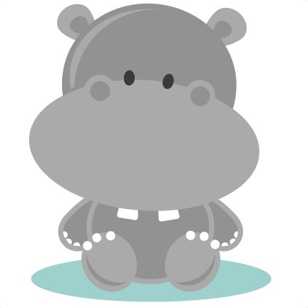 Mother And Baby clipart Clipart hippo child Clipart and