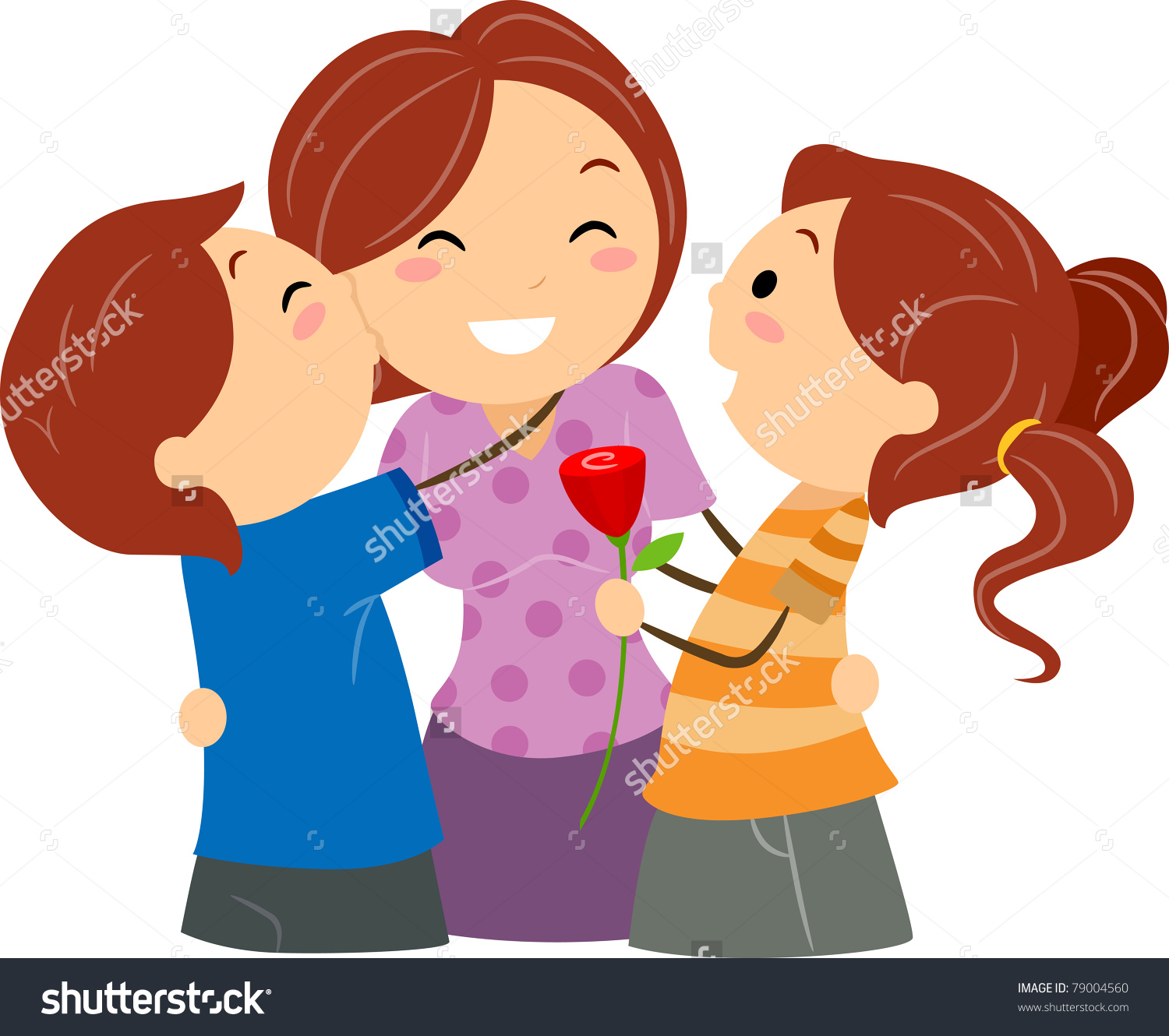 Mother And Baby clipart adoption Clipart mom clipart mom Kiss