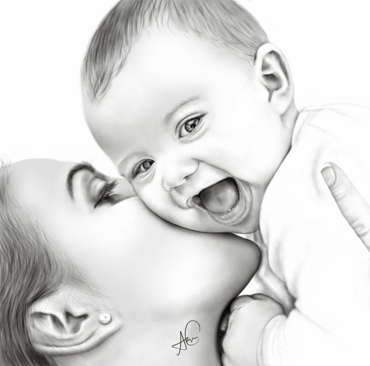 Mother And Baby clipart amma Best on bambini 67 Pinterest