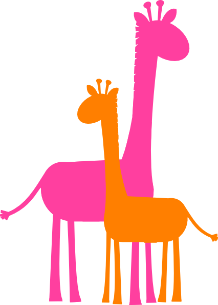 Mother And Baby clipart baby logo Funny giraffe Mother Funny clip