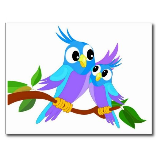 Bird clipart mother and baby Animal Parrots Funny Clip and