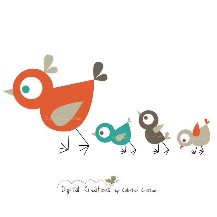 Bird clipart mother and baby Pinterest more on images 85