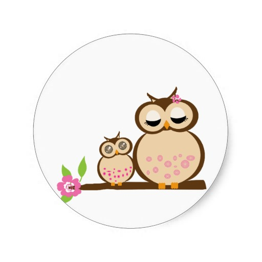 Owl clipart mom Babies owl Free mother