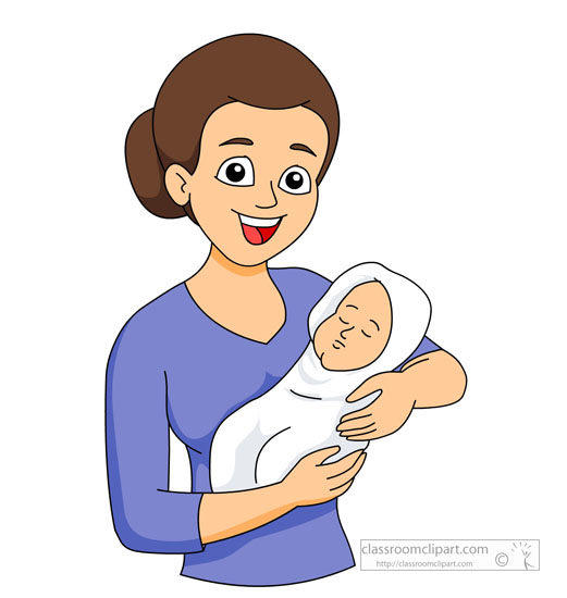 Mommy clipart mom newborn Born collection new clipart Clipart