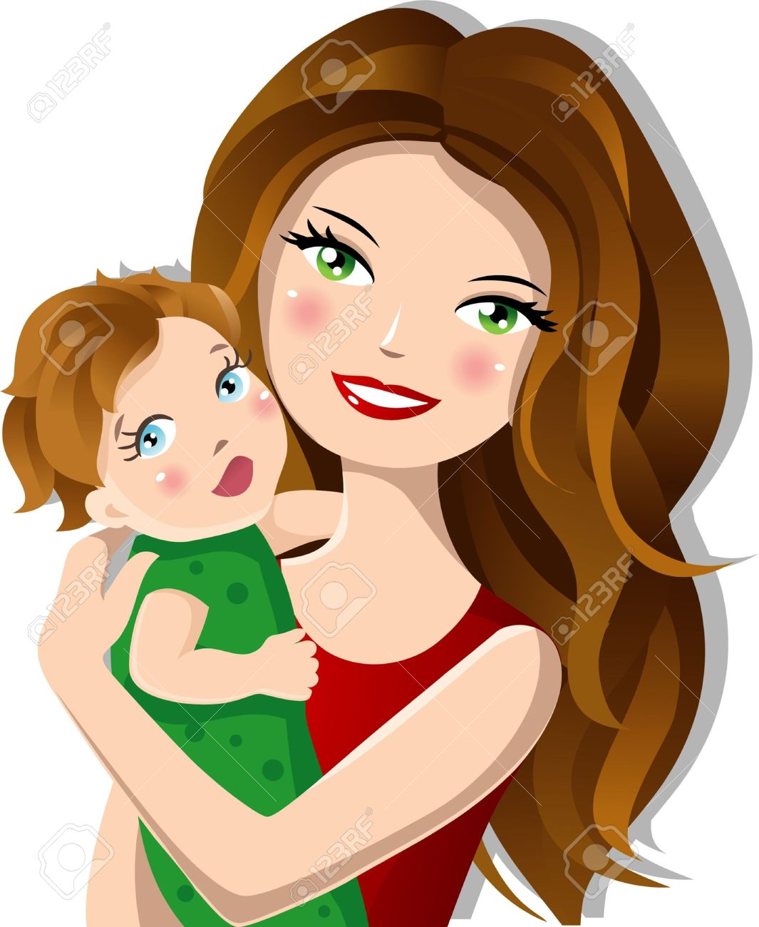 Mommy clipart mom newborn Images Clipart Free Clipart Mother