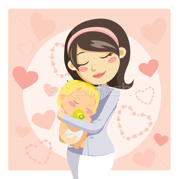 Mommy clipart childhood Download Add Mother vector Kakigori
