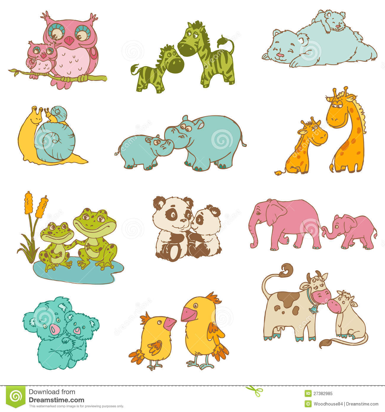 Mommy clipart baby animal BBCpersian7 clipart Clip – Art
