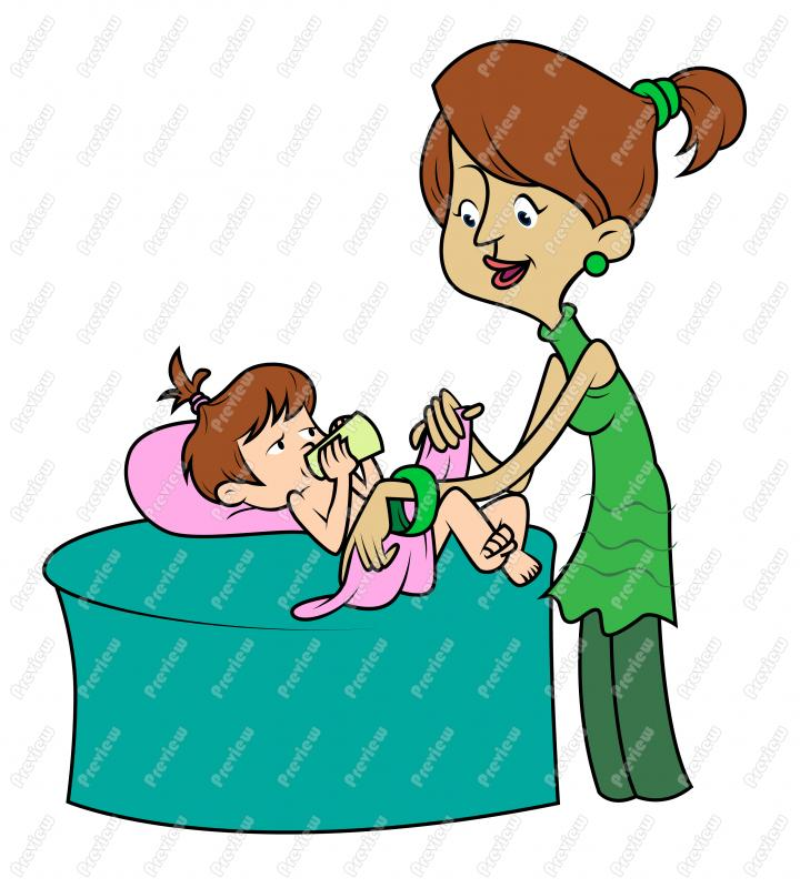 Baby Mother Clipart  Girl