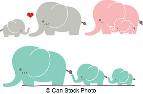 Mommy clipart baby elephant Clipart 134 clipart elephant #canstock14184003